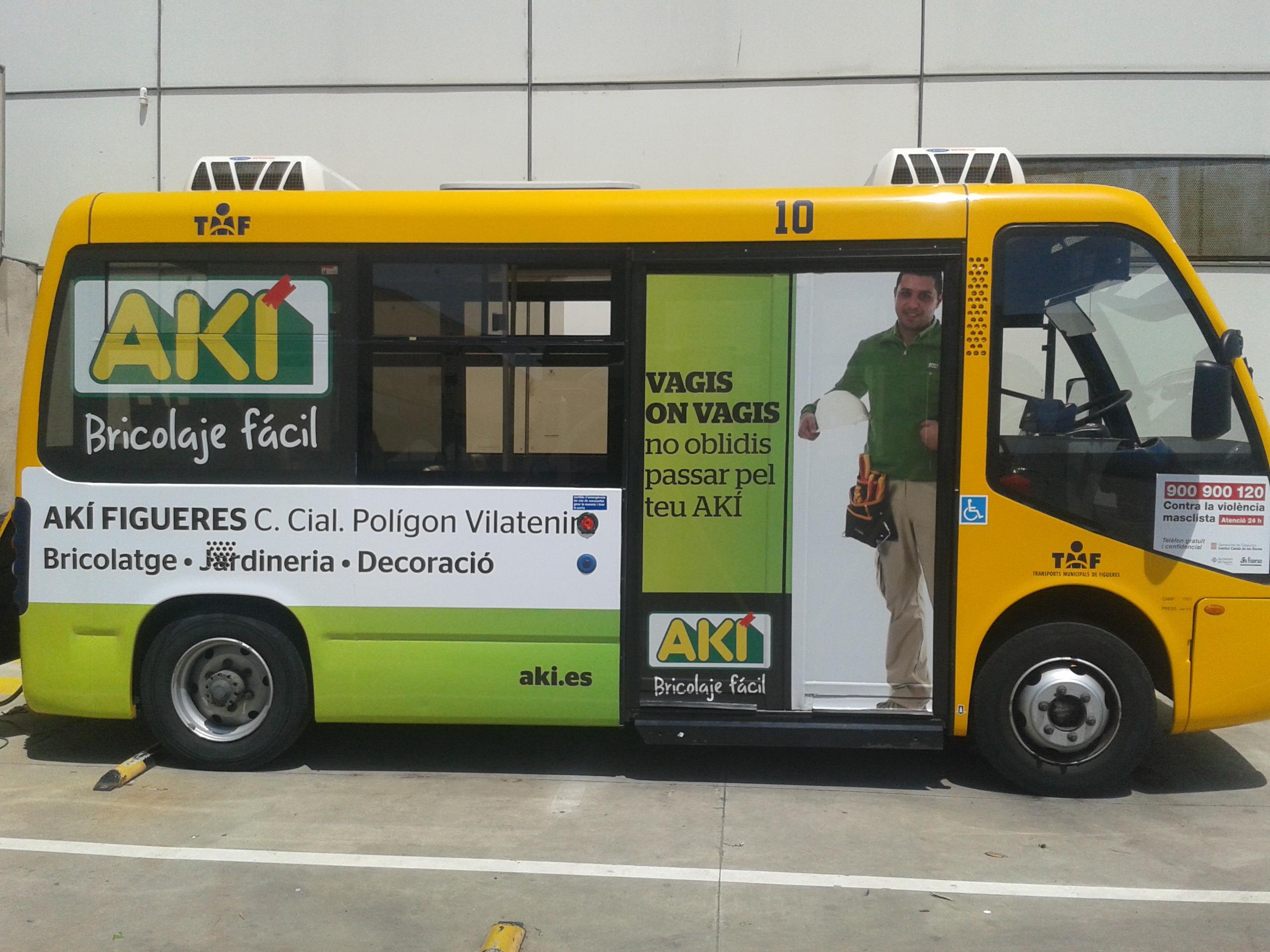 Bus elèctric de Figueres