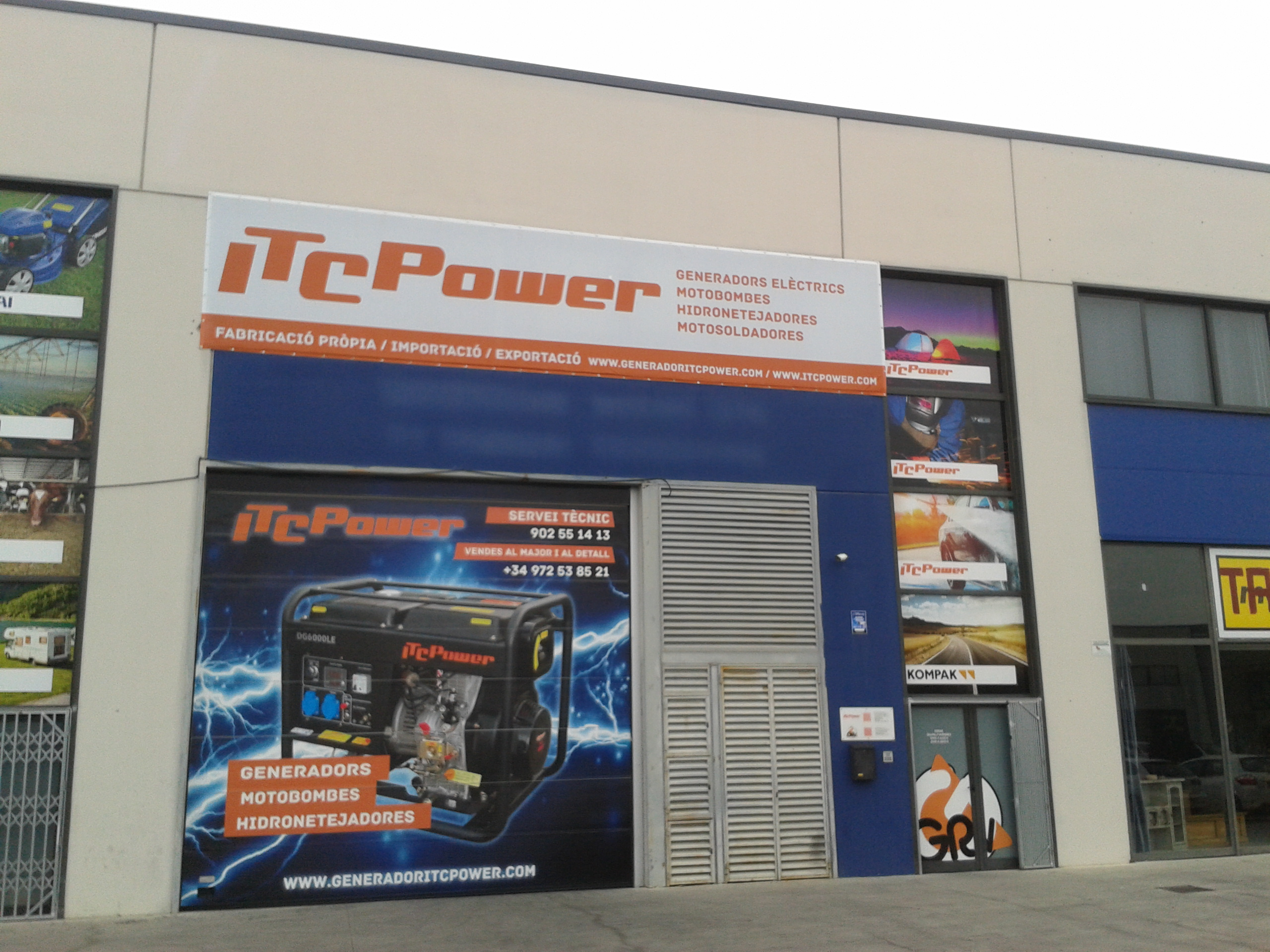 ITC Power · maquinària