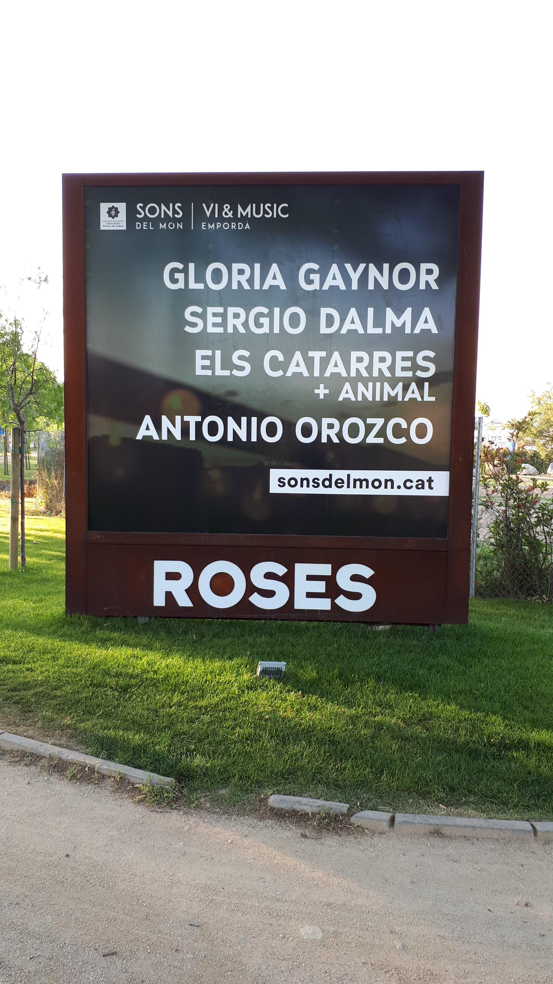 Tanca publicitaria – Roses
