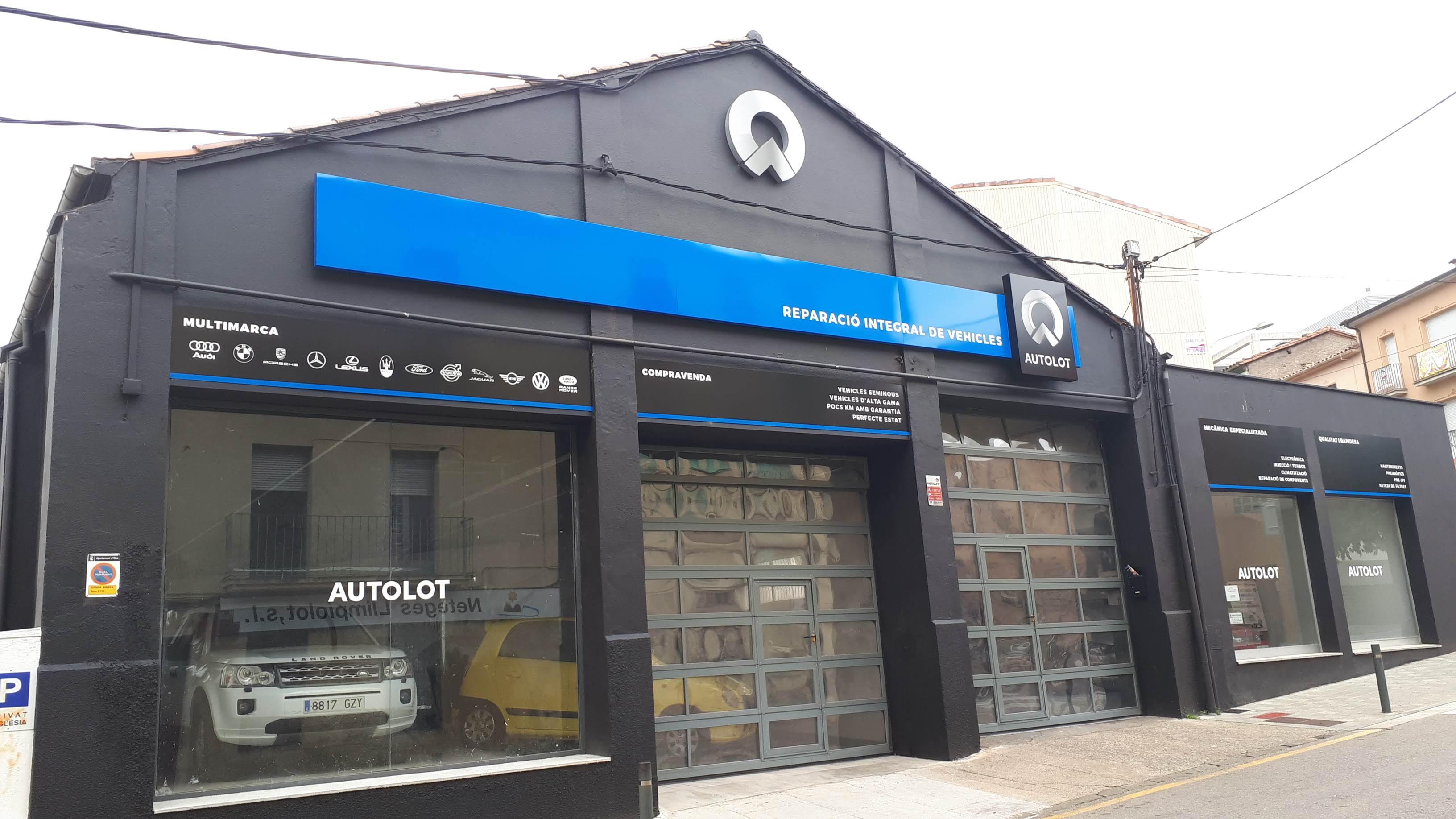 Autolot – Reparació de vehicles
